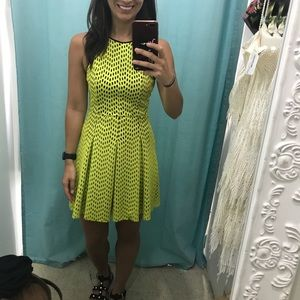 Topshop yellow dress size US2